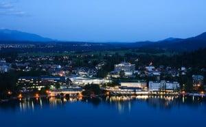 озеро Bled.