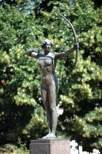 Статуя в Бидгош
