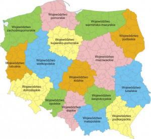 Площадь территории Польши