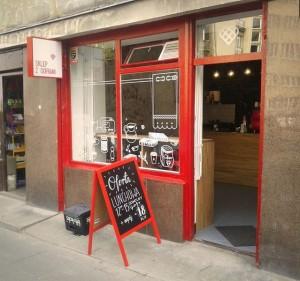 Кафе в Варшаве: «Sklep z goframi»
