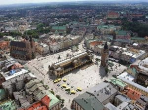 Рыночная площадь Кракова